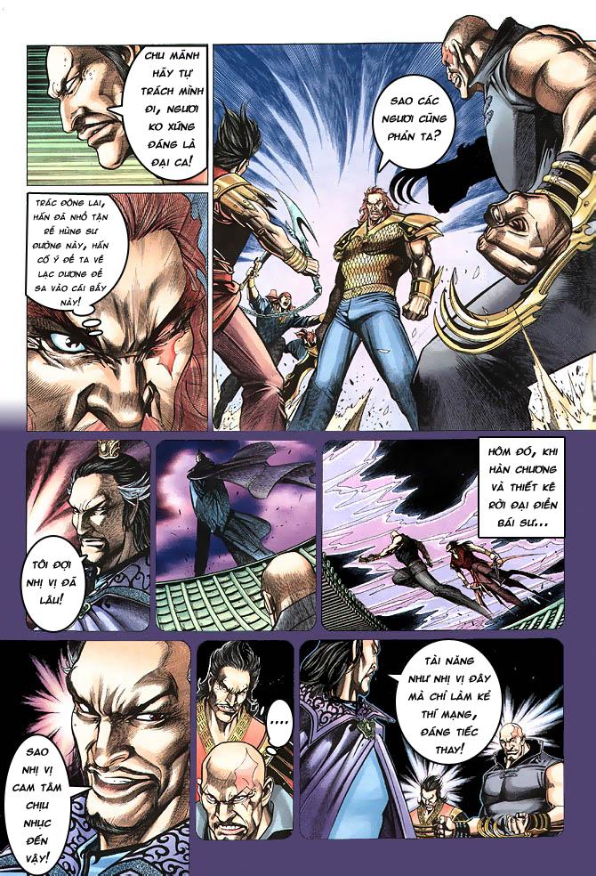 Anh hùng vô lệ chap 4 trang 20
