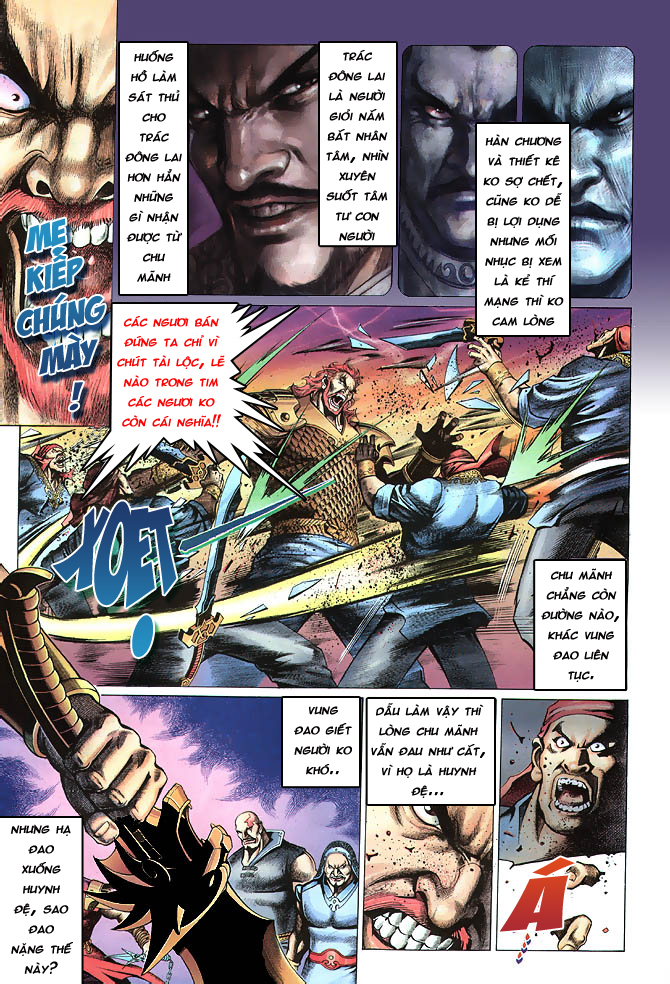 Anh hùng vô lệ chap 4 trang 21