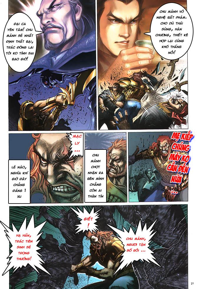 Anh hùng vô lệ chap 4 trang 22