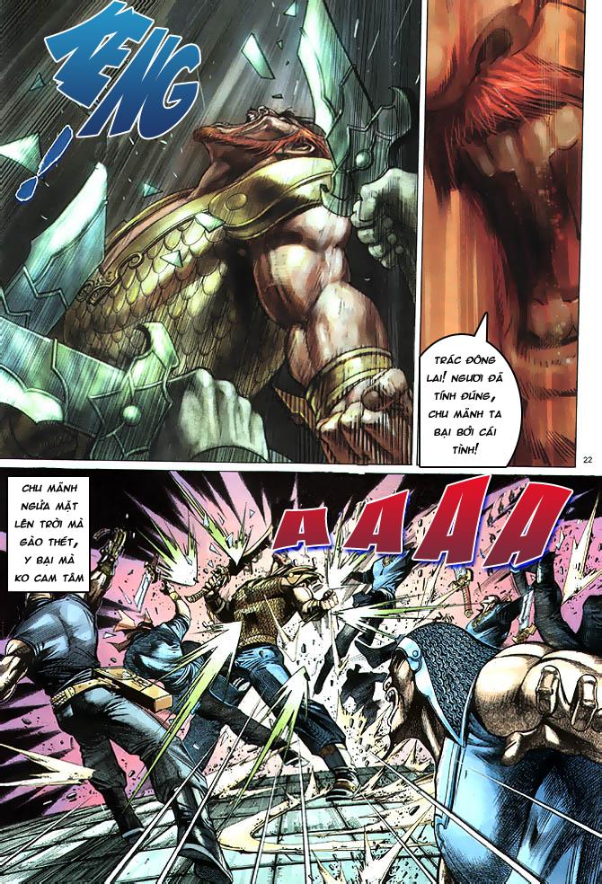 Anh hùng vô lệ chap 4 trang 23