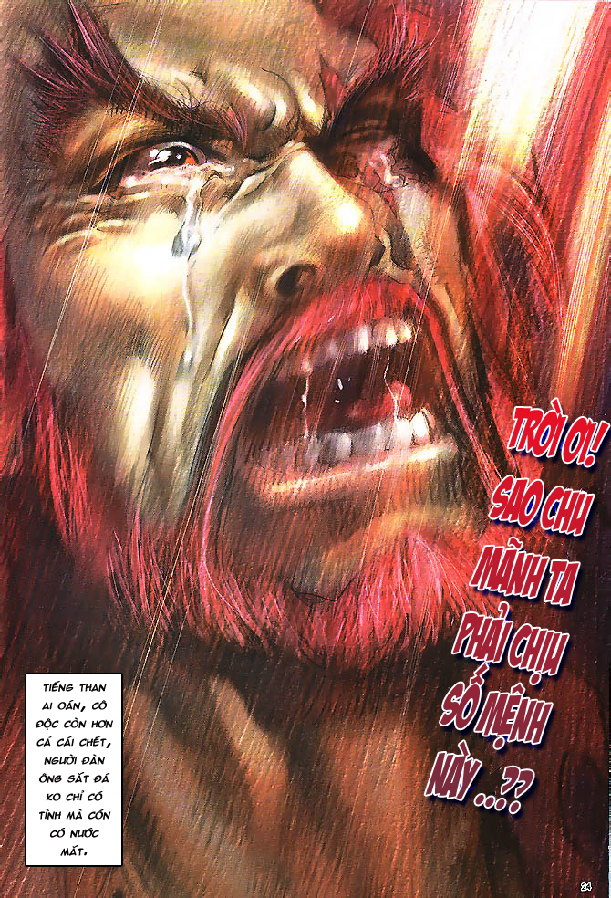 Anh hùng vô lệ chap 4 trang 25