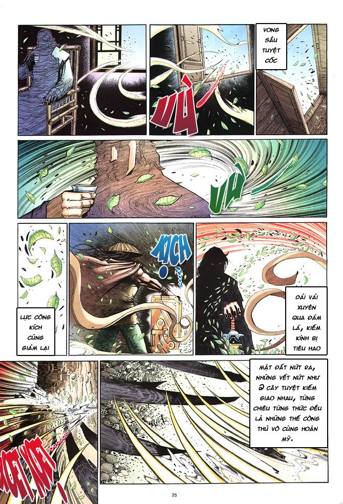 Anh hùng vô lệ chap 4 trang 26