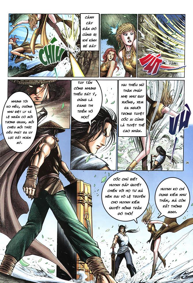 Anh hùng vô lệ chap 4 trang 27
