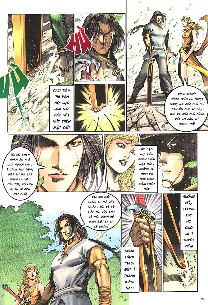 Anh hùng vô lệ chap 4 trang 28