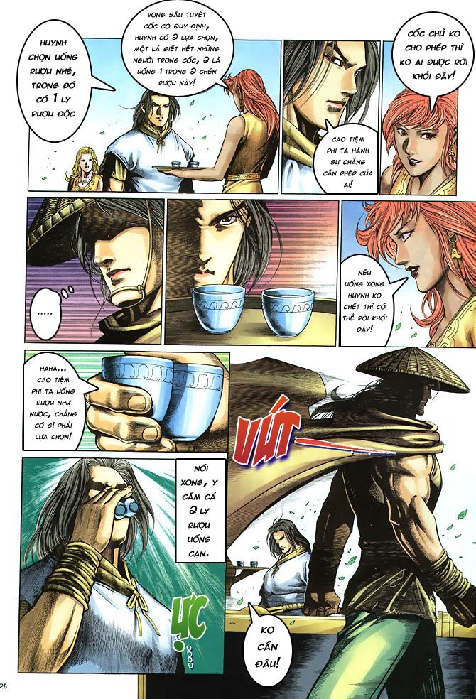 Anh hùng vô lệ chap 4 trang 29