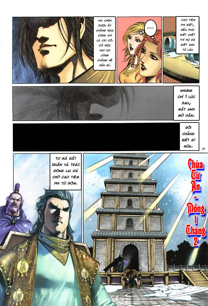 Anh hùng vô lệ chap 4 trang 30