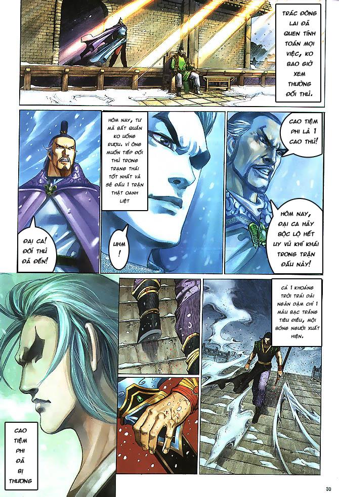 Anh hùng vô lệ chap 4 trang 31
