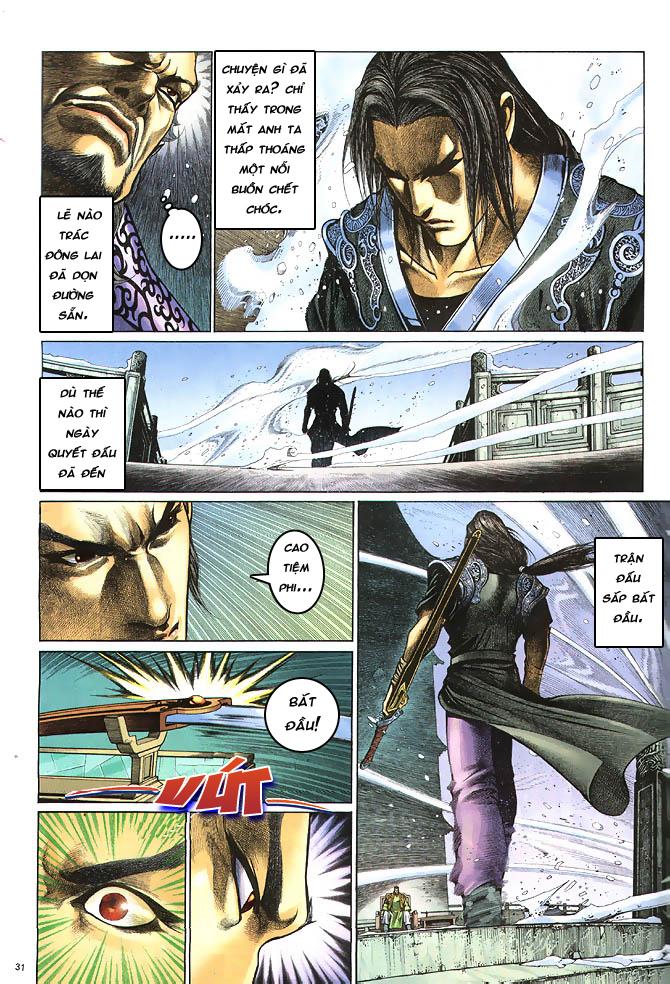Anh hùng vô lệ chap 4 trang 32