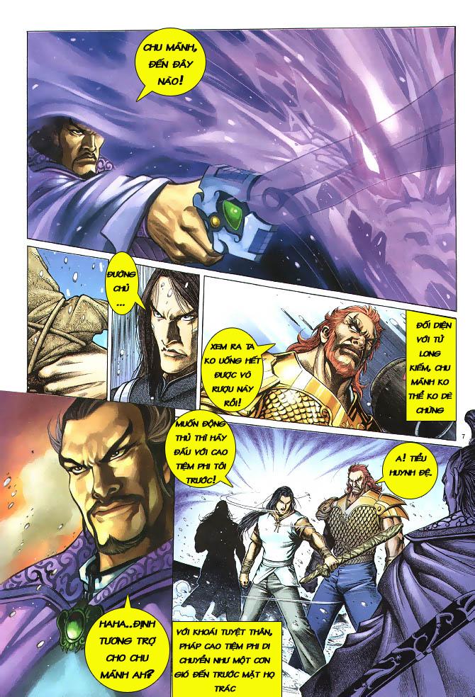 Anh hùng vô lệ chap 3 trang 8