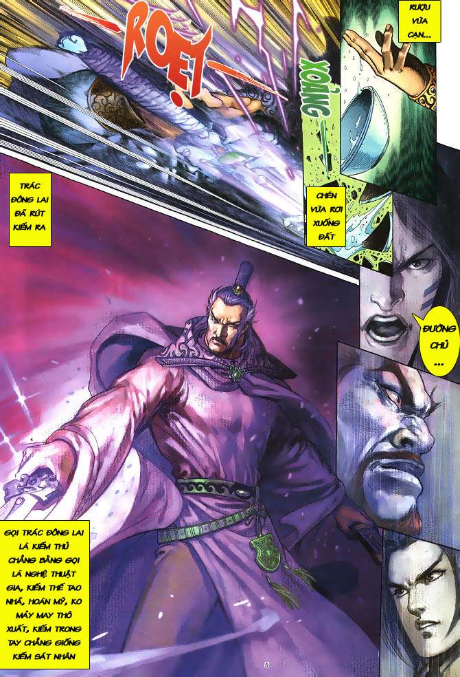 Anh hùng vô lệ chap 3 trang 6