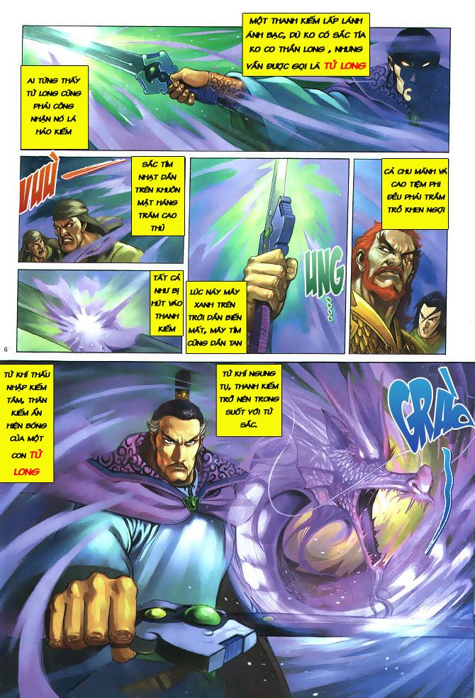 Anh hùng vô lệ chap 3 trang 7