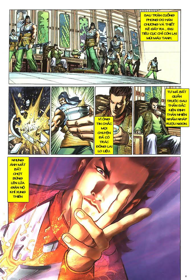 Anh hùng vô lệ chap 2 trang 9