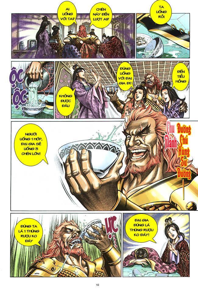 Anh hùng vô lệ chap 2 trang 11