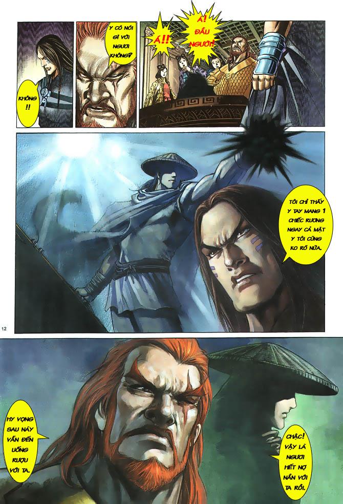 Anh hùng vô lệ chap 2 trang 13