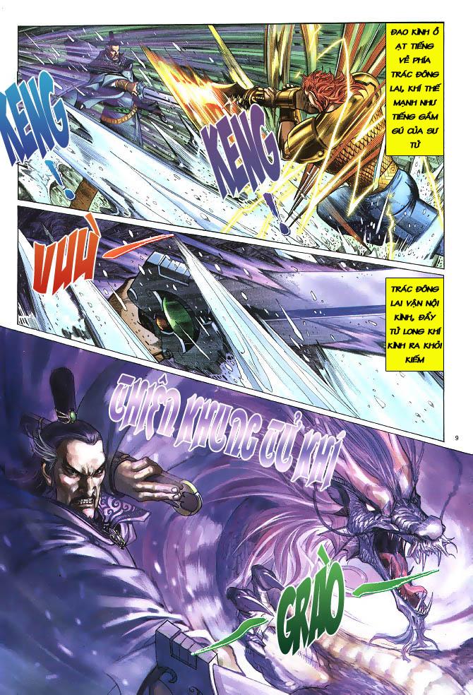 Anh hùng vô lệ chap 3 trang 10