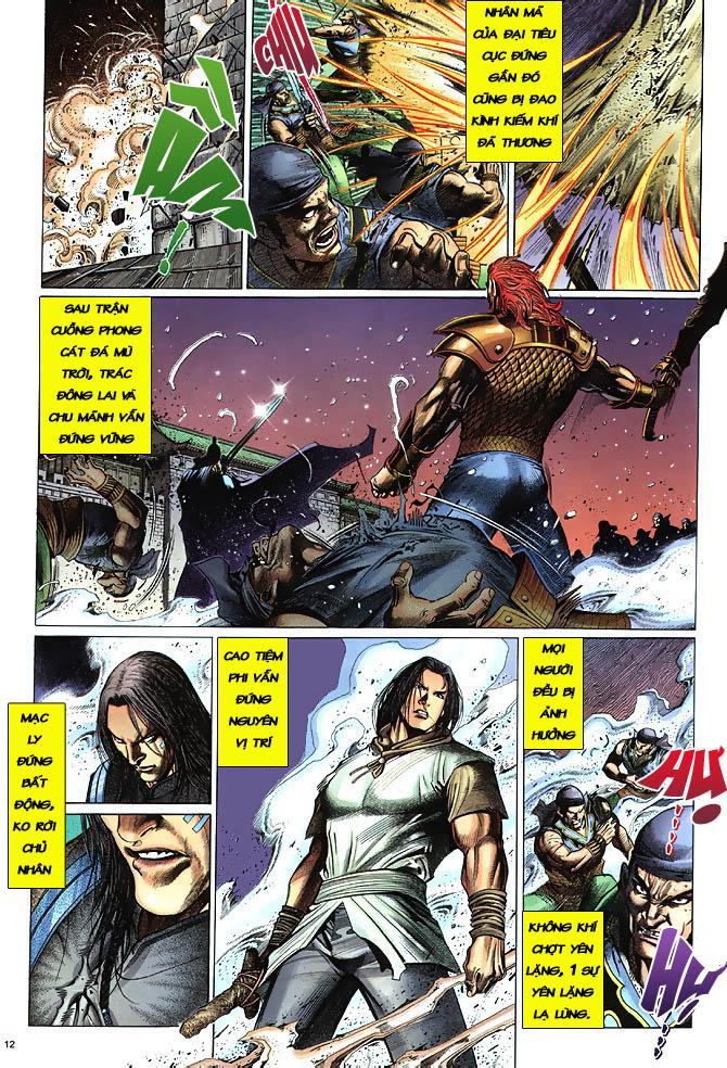 Anh hùng vô lệ chap 3 trang 13
