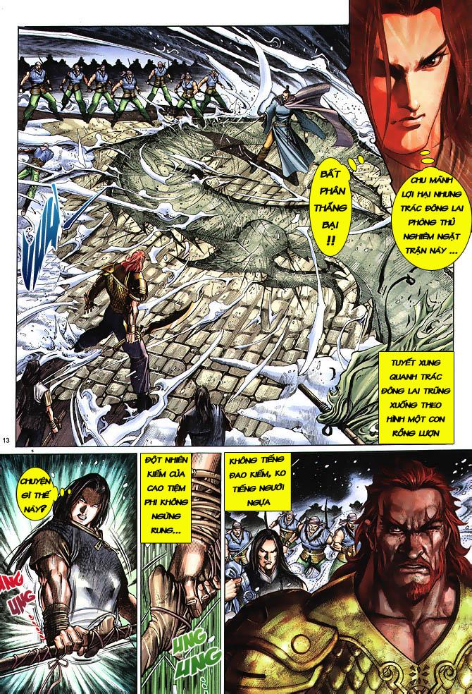 Anh hùng vô lệ chap 3 trang 14