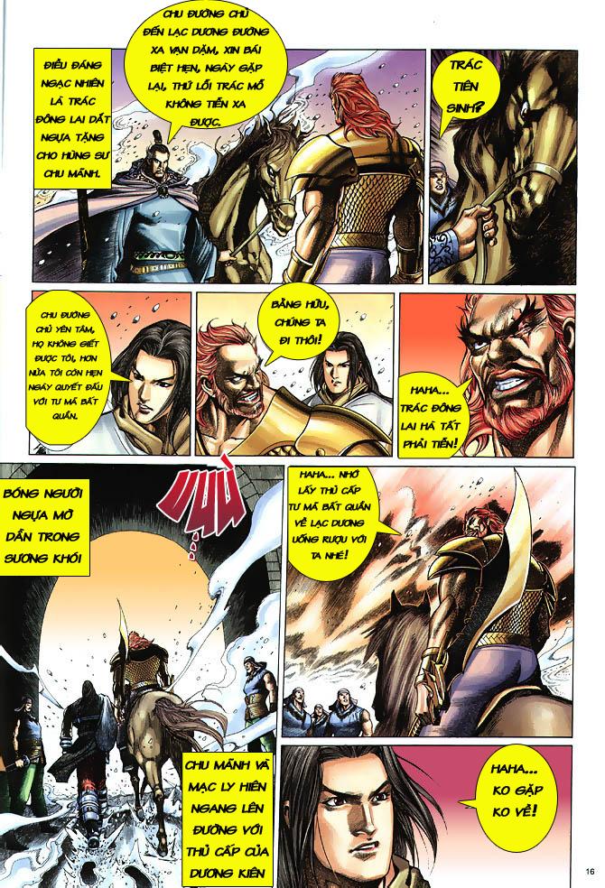 Anh hùng vô lệ chap 3 trang 17
