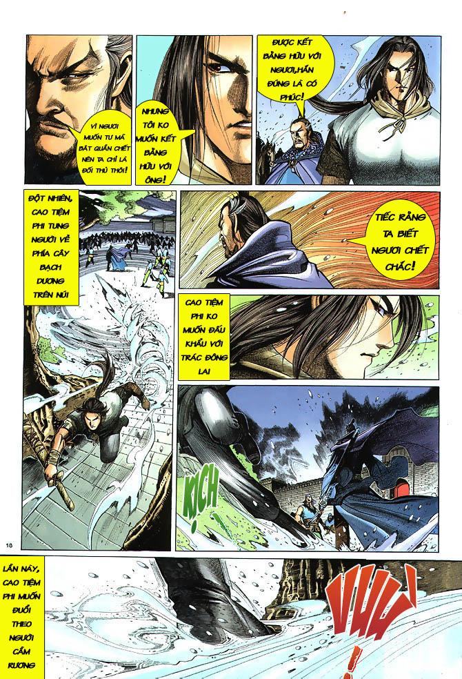 Anh hùng vô lệ chap 3 trang 19