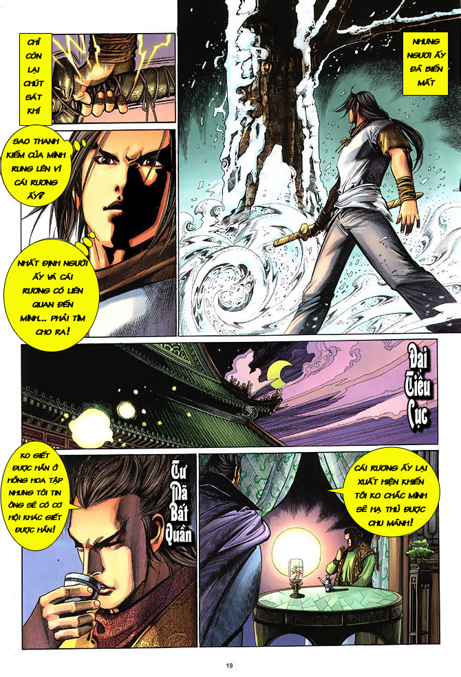 Anh hùng vô lệ chap 3 trang 20