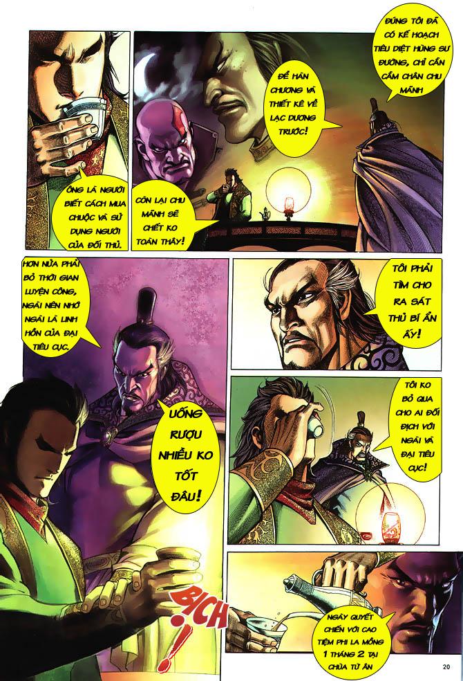 Anh hùng vô lệ chap 3 trang 21