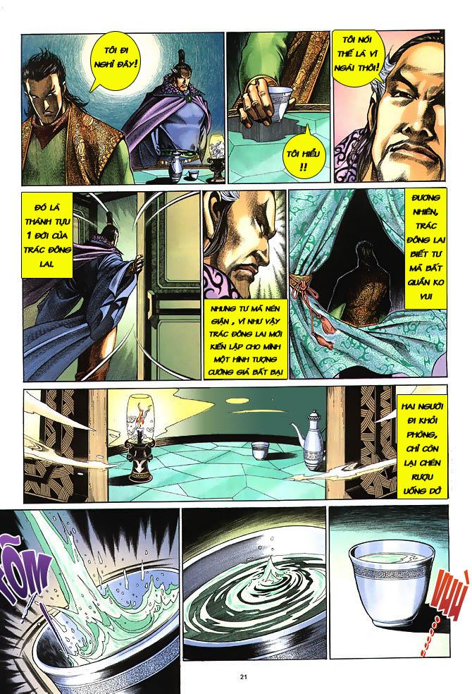Anh hùng vô lệ chap 3 trang 22