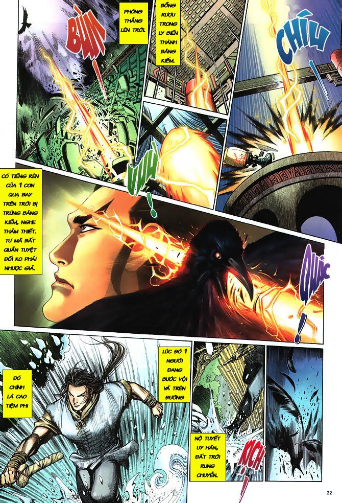 Anh hùng vô lệ chap 3 trang 23