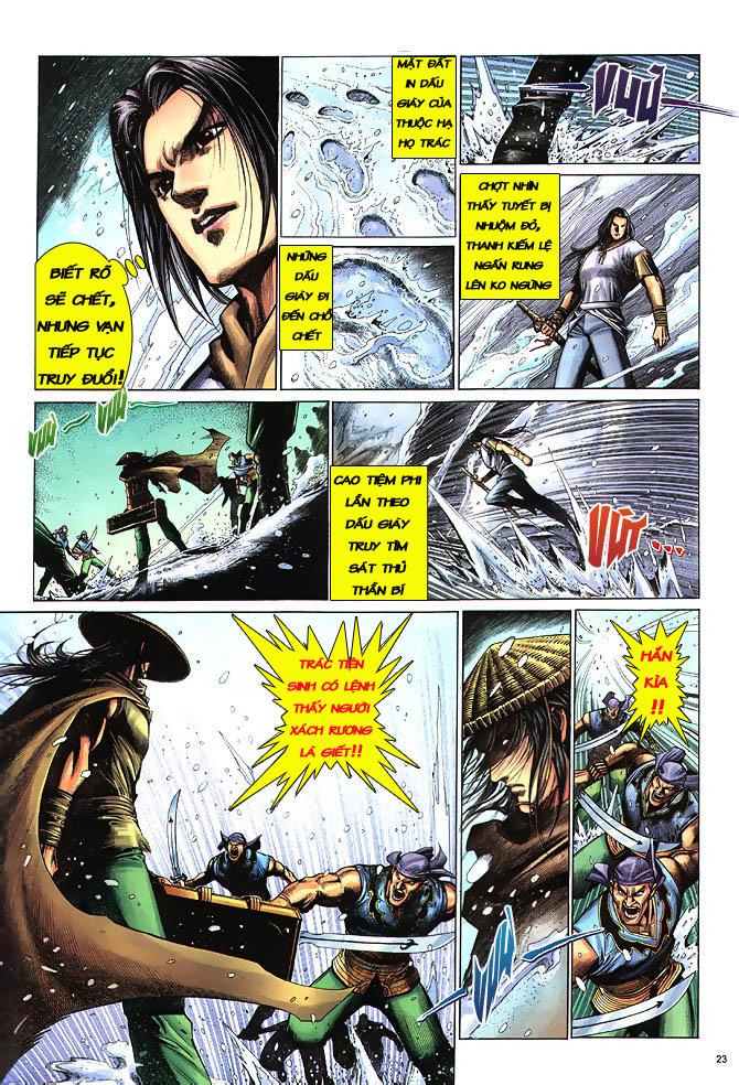 Anh hùng vô lệ chap 3 trang 24