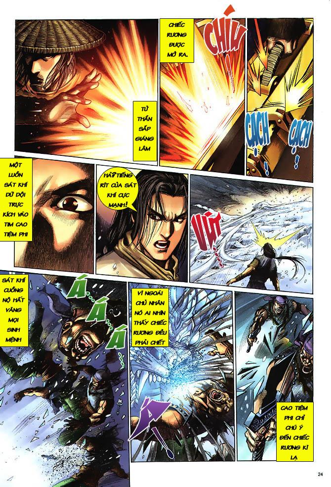 Anh hùng vô lệ chap 3 trang 25
