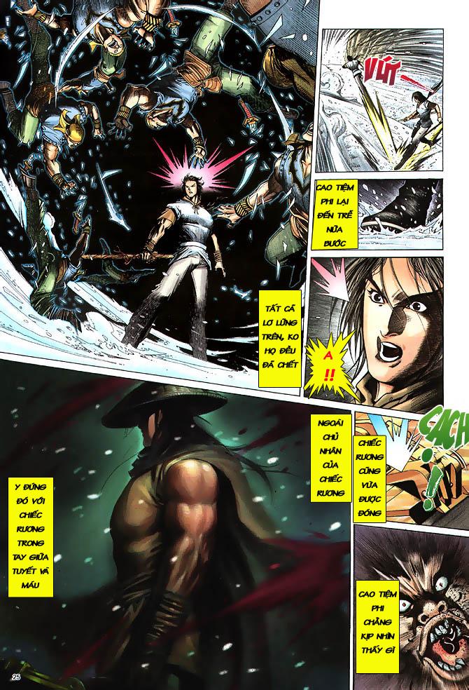 Anh hùng vô lệ chap 3 trang 26