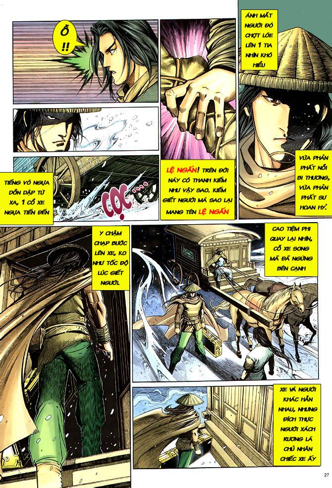 Anh hùng vô lệ chap 3 trang 28