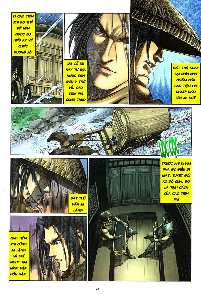 Anh hùng vô lệ chap 3 trang 29