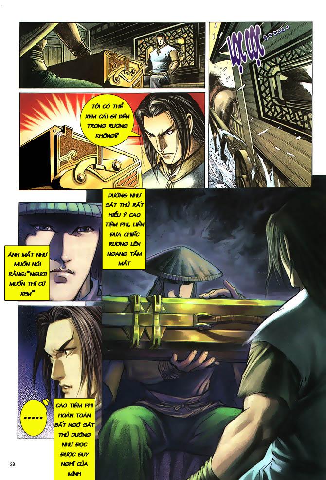 Anh hùng vô lệ chap 3 trang 30
