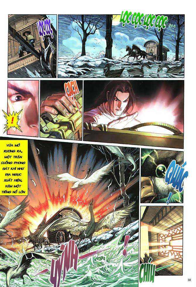Anh hùng vô lệ chap 3 trang 31