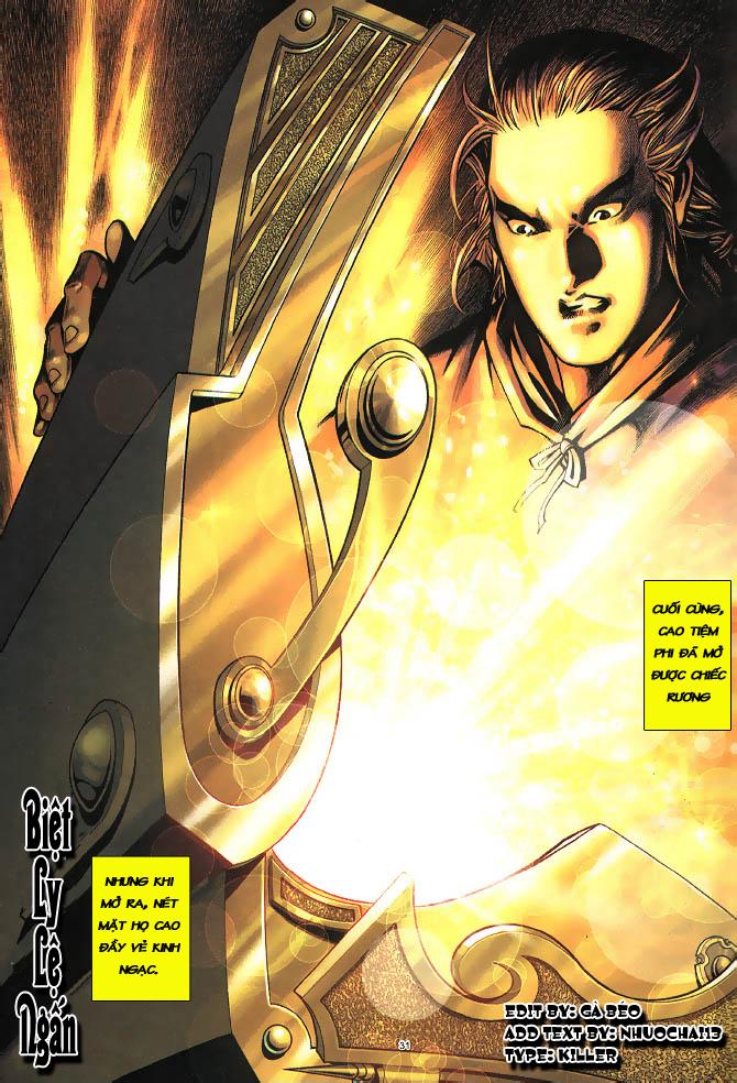 Anh hùng vô lệ chap 3 trang 32