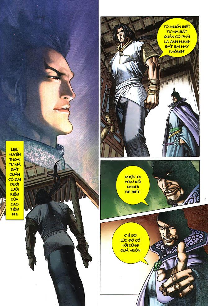 Anh hùng vô lệ chap 2 trang 8