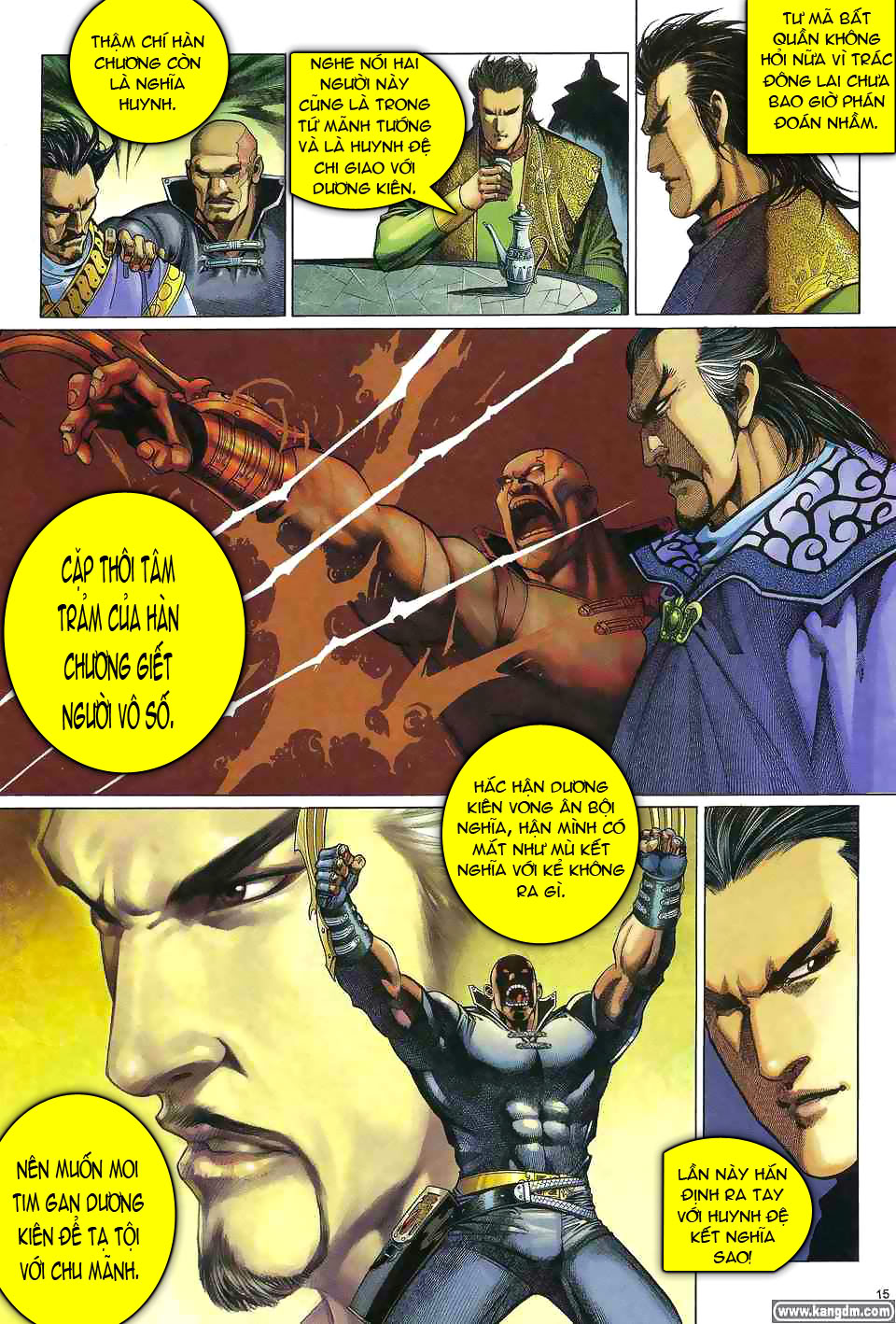 Anh hùng vô lệ chap 1 trang 14