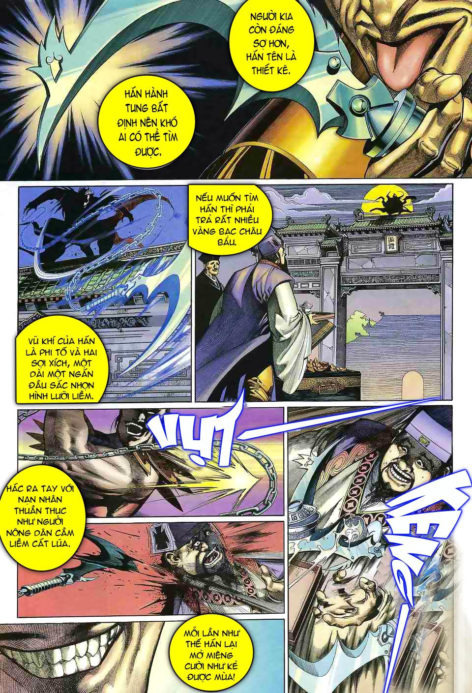 Anh hùng vô lệ chap 1 trang 15