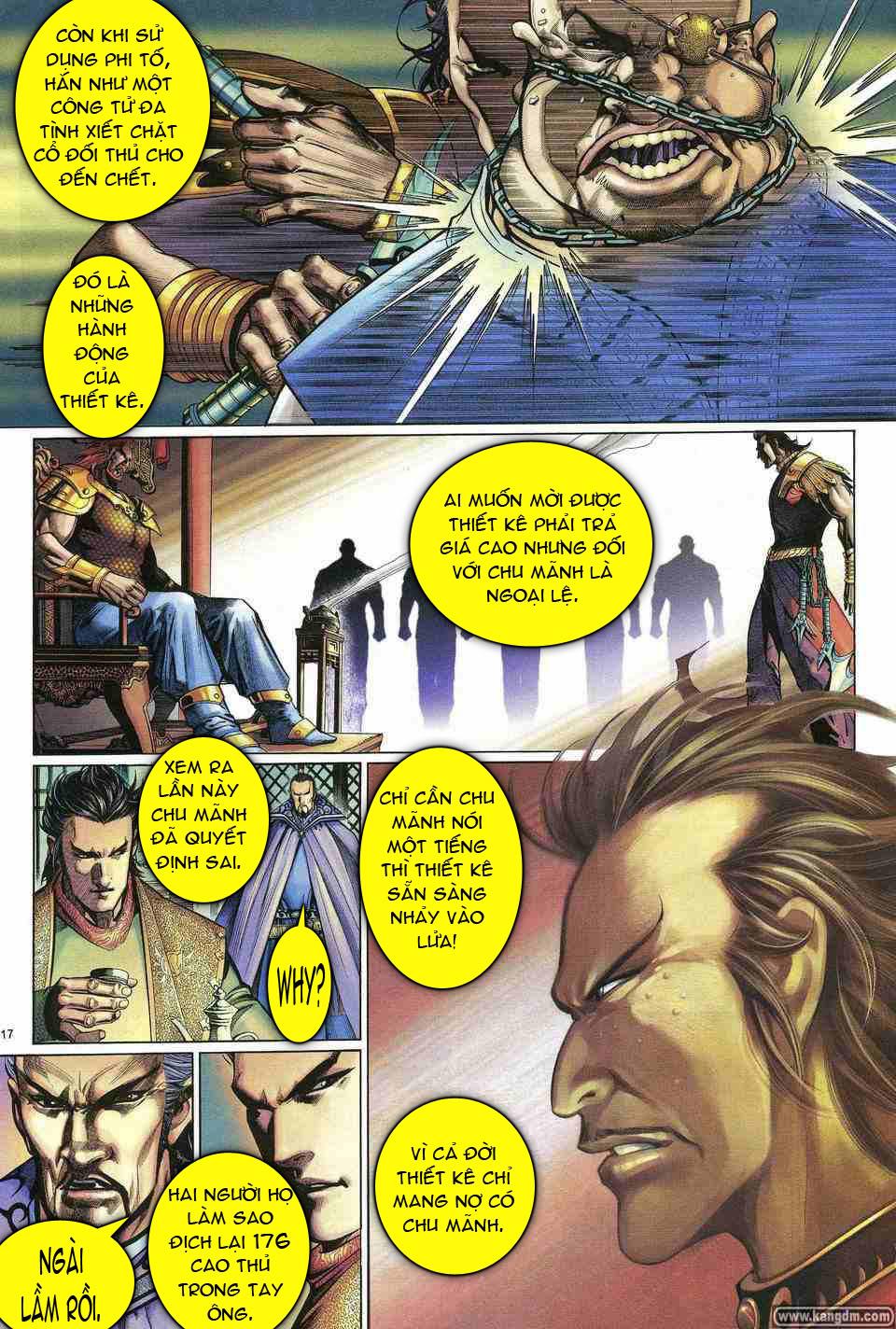 Anh hùng vô lệ chap 1 trang 16