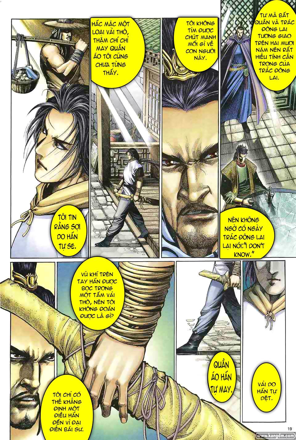 Anh hùng vô lệ chap 1 trang 18
