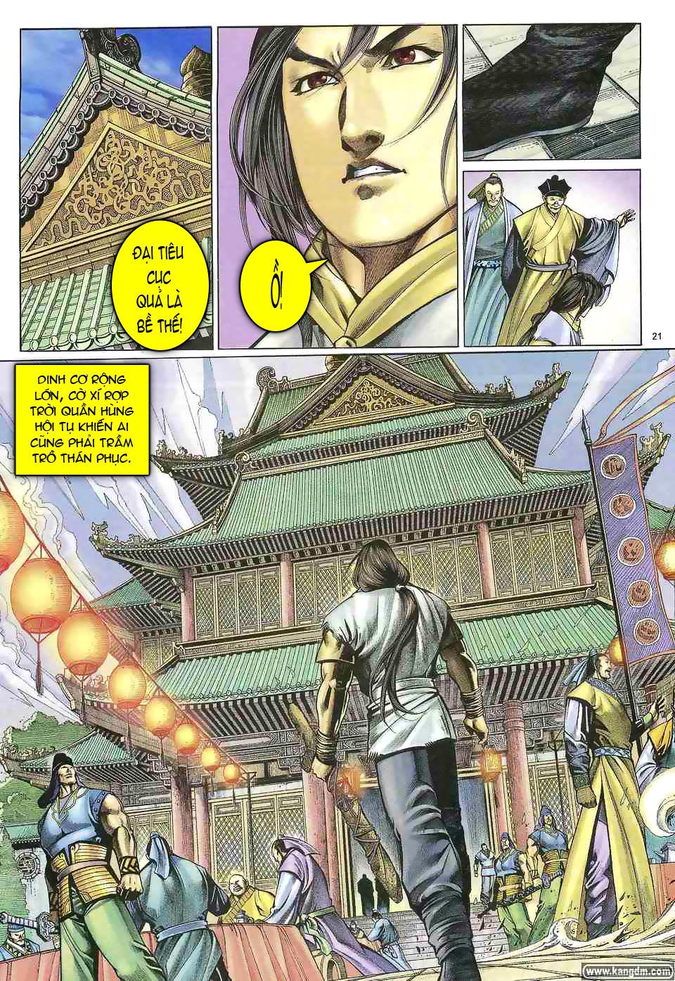 Anh hùng vô lệ chap 1 trang 20