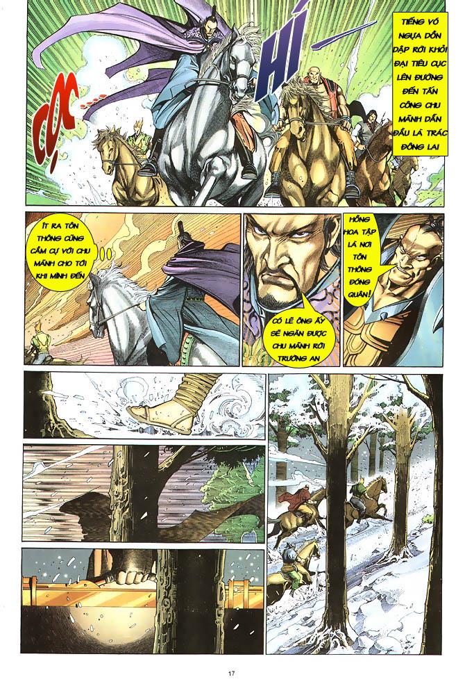Anh hùng vô lệ chap 2 trang 18