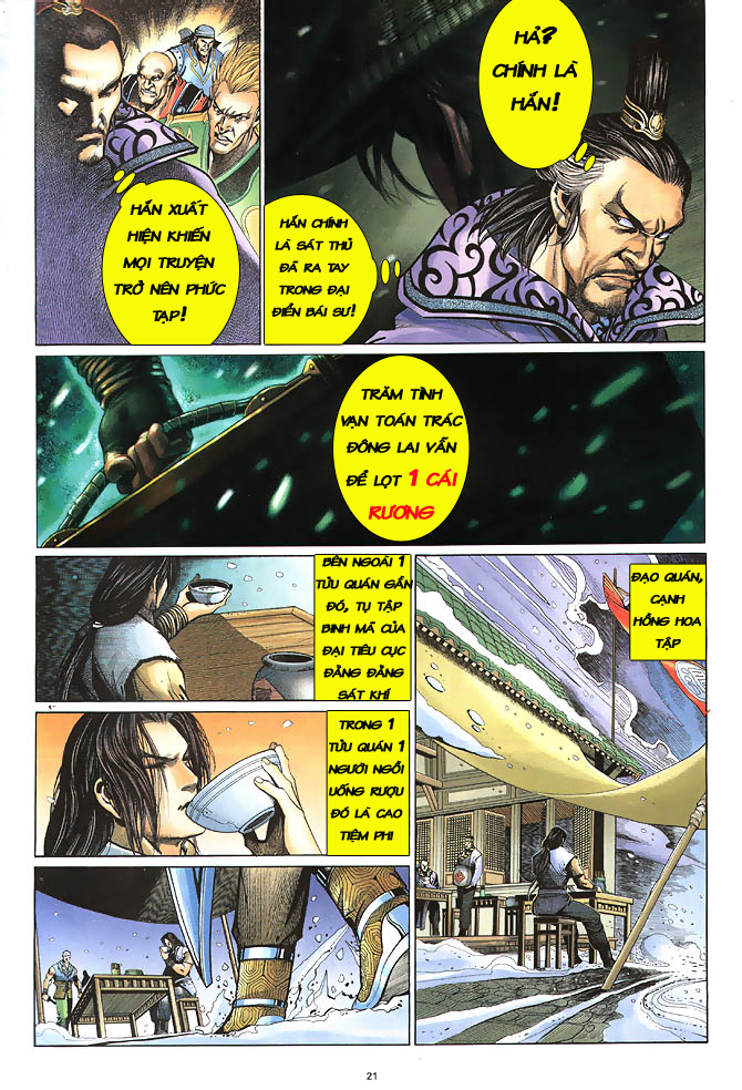 Anh hùng vô lệ chap 2 trang 22