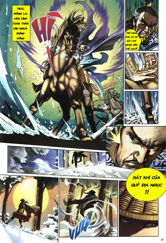 Anh hùng vô lệ chap 2 trang 21