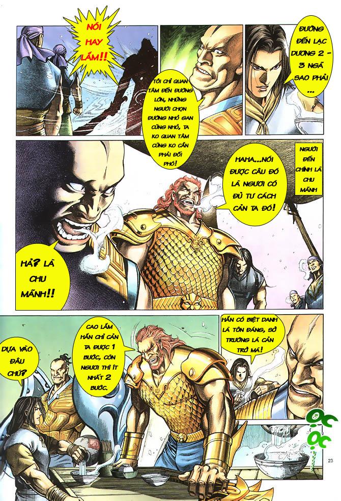 Anh hùng vô lệ chap 2 trang 24