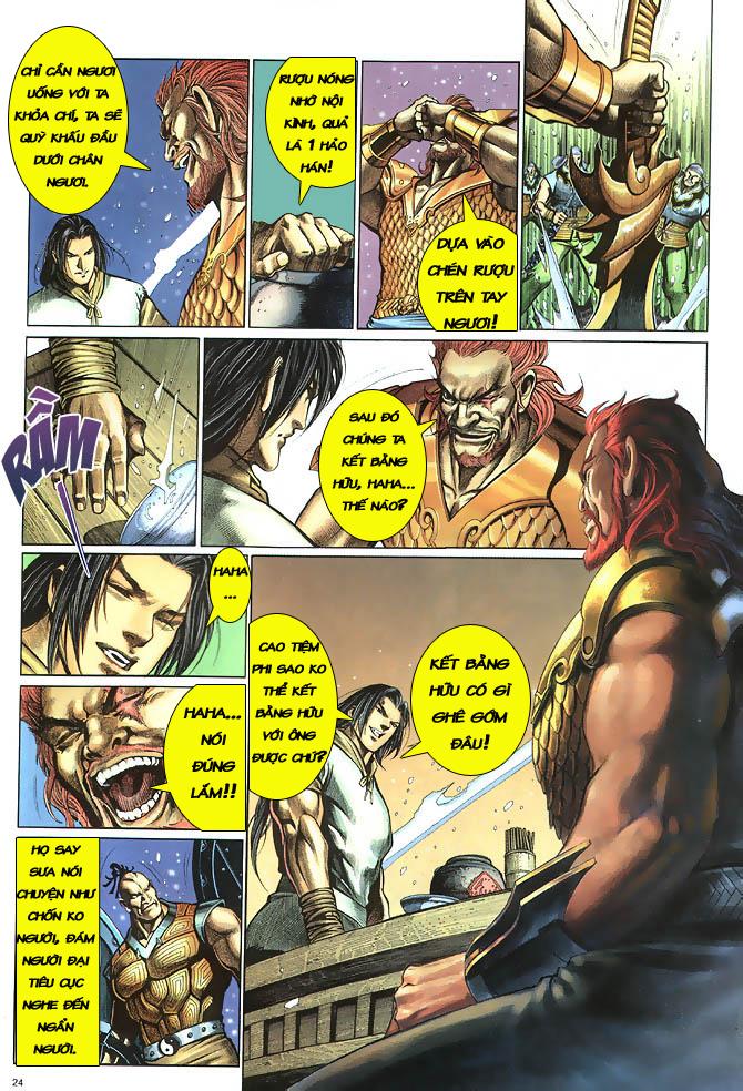 Anh hùng vô lệ chap 2 trang 25