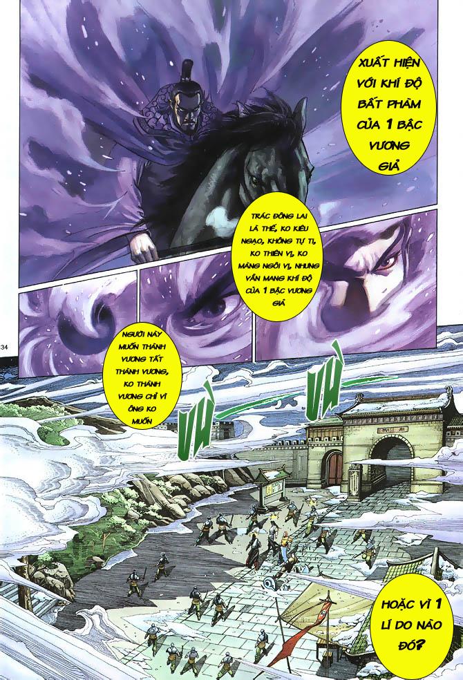 Anh hùng vô lệ chap 2 trang 35