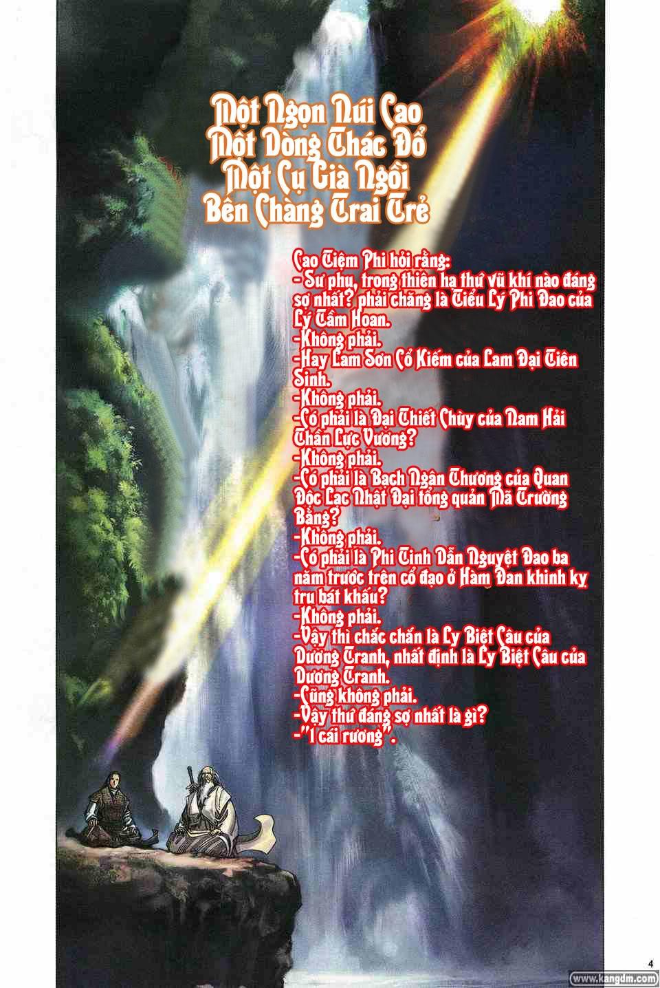 Anh hùng vô lệ chap 1 trang 3