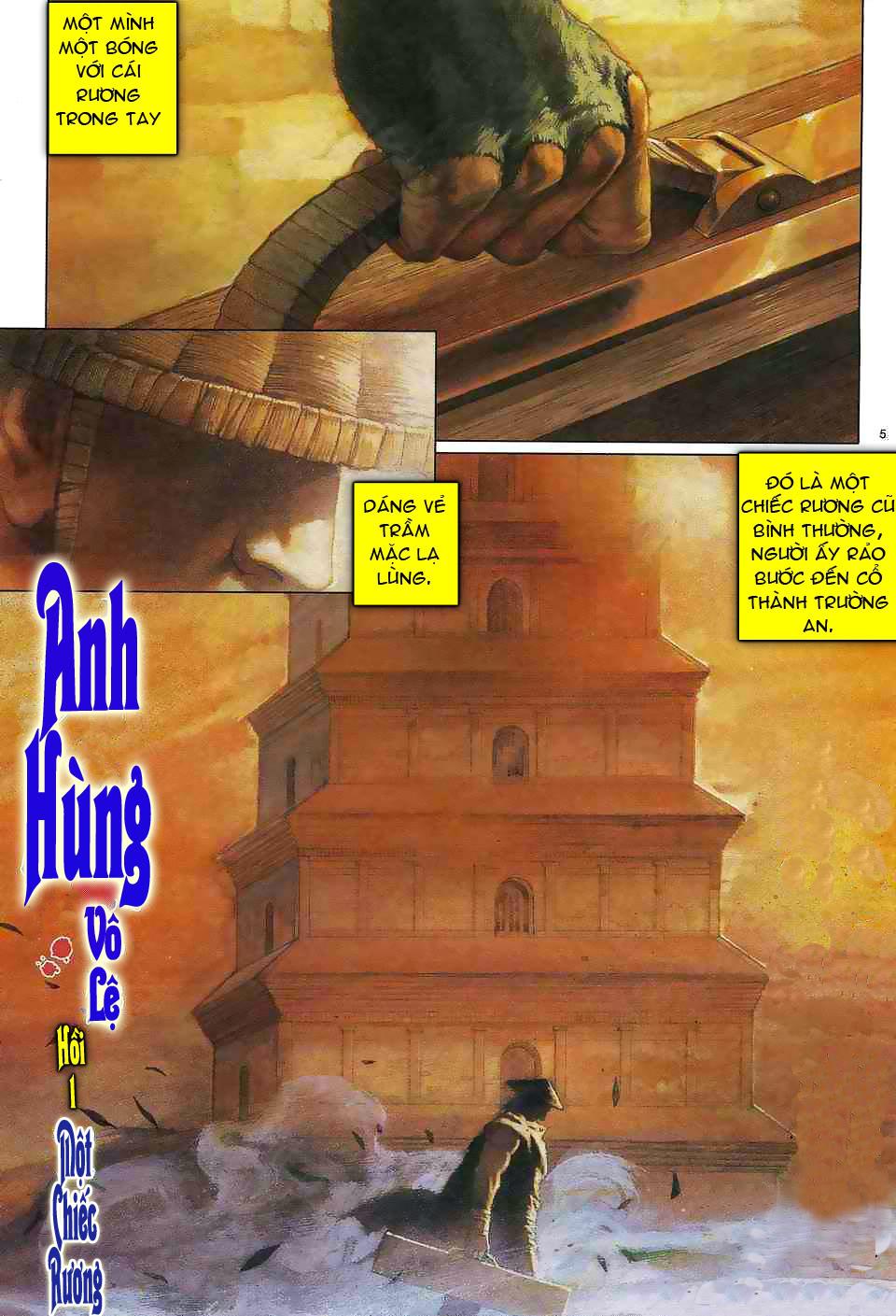Anh hùng vô lệ chap 1 trang 4
