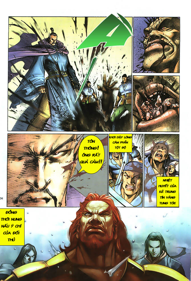 Anh hùng vô lệ chap 2 trang 37